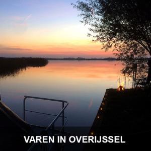 varen-bij-zonsondergang