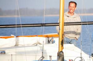 Rieuwert de Haan oprichter Njuta Watersport